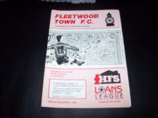 Fleetwood Town v Stalybridge Celtic, 1990/91
